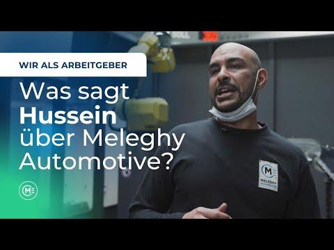 Was sagt Hussein über Meleghy Automotive? - Wir als Arbeitgeber