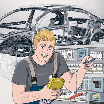 Ausbildung Elektroniker für Betriebstechnik (m/w/d)