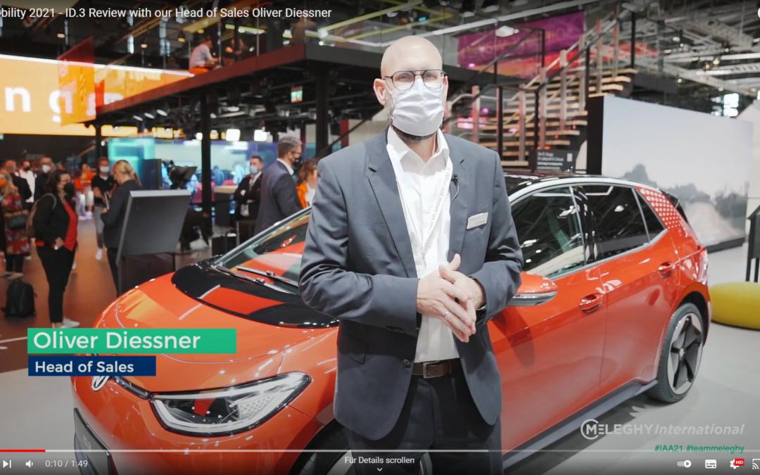 IAA Mobility 2021 – ID.3 Review mit Vertriebsleiter Oliver Diessner